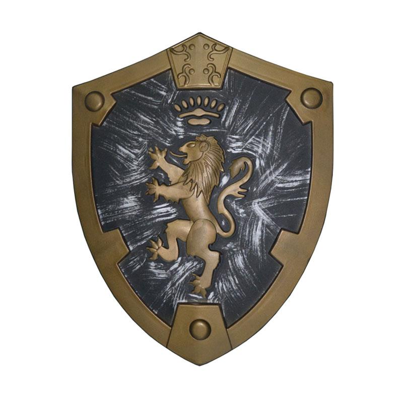 Medieval Royal Lion LARP Shield - PGW-SH0003 | PartyGears