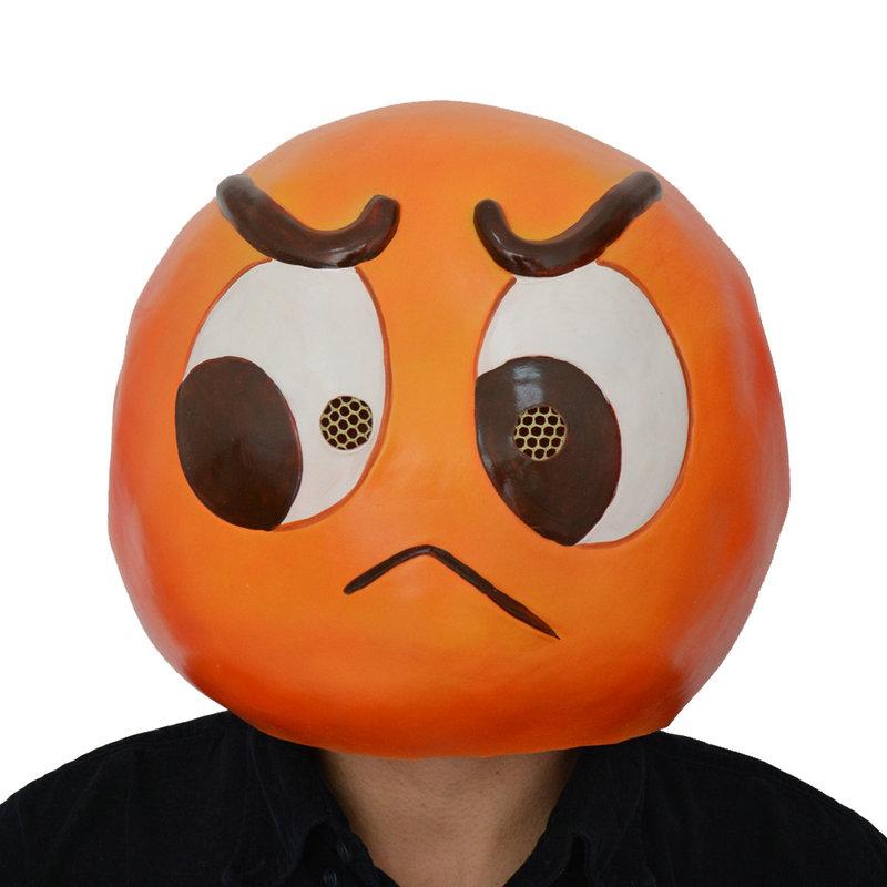 Latex Emoji Angry Mask-PGM-H16053  153eb7833eba