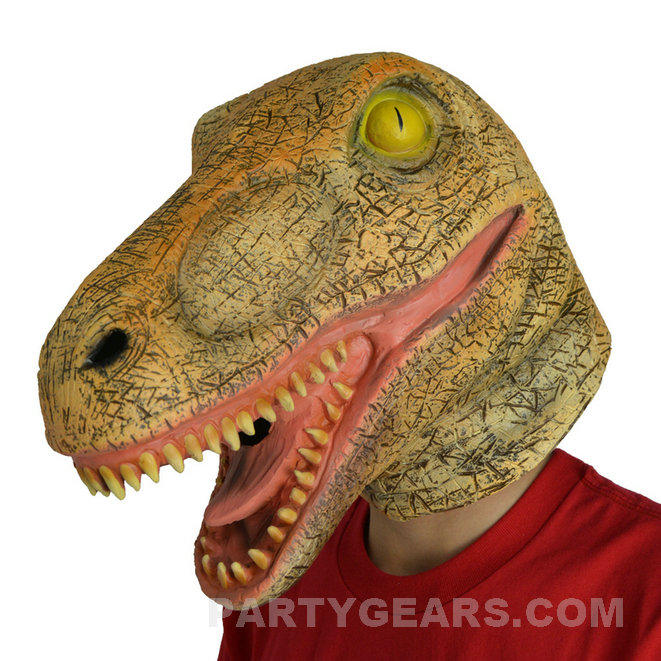 how to make a dinosaur mask